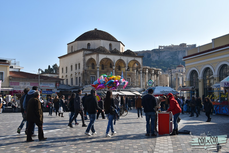 4 días en Atenas