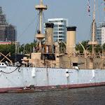 Бронепалубный крейсер Олимпия, построенный в конце 19 века