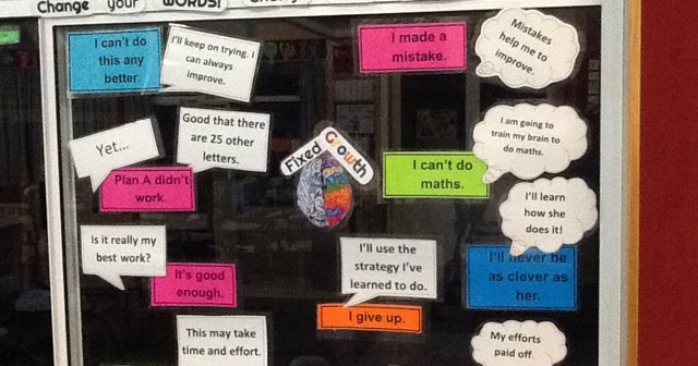 Room 17 @ HNI 2017: Classroom Display of Growth Mindset