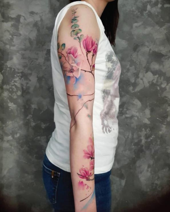 estes_aquarela_flores_de_cerejeira