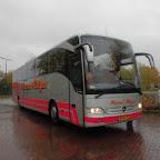 Mercedes Tourismo van Pasteur Reizen