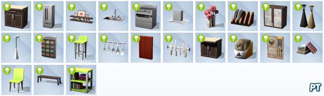 De Sims 4 Coole Keukenaccessoires nieuwe voorwerpen
