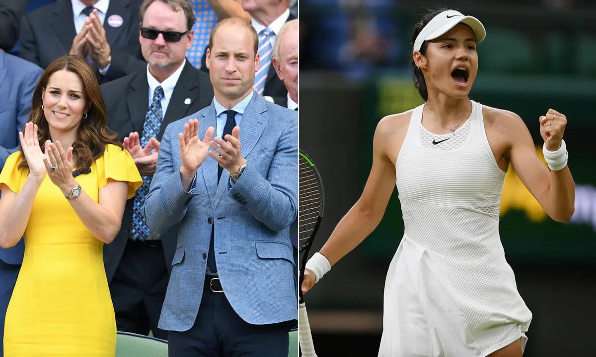 Prince William and Kate Middleton Respond to Tennis star Emma Raducanu After Wimbledon Exit