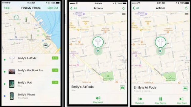 where to find find my iphone how tofind lost apple airpods iphone and apps for 6251