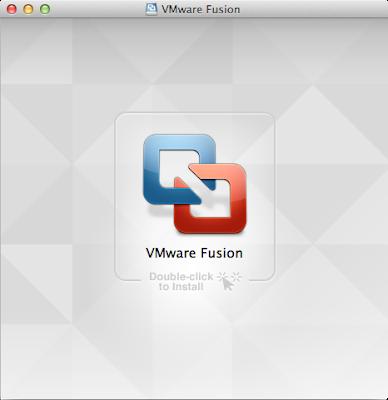 VMware Fusion 5インストーラー