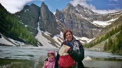 Banff NP. Agnes Teahose Trek.Agnes Lake