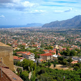 22. View of Palermo and the Conca d'Oro from Monreale. Province of Palermo. Monreale. Sicily. 2013