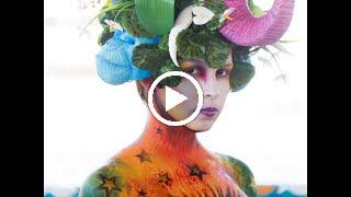 MOVIE Color Sea Festival Bodypainting 2018