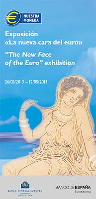 Exposición 'La nueva cara del euro' en el Banco de España