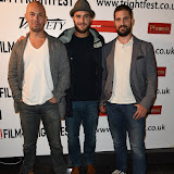 OIC - ENTSIMAGES.COM - Julien Seri, Jonathan Demurger and Pascal Sid at the Film4 Frightfest on Monday   of  Night Fare UK Film Premiere at the Vue West End in London on the 31st  August 2015. Photo Mobis Photos/OIC 0203 174 1069