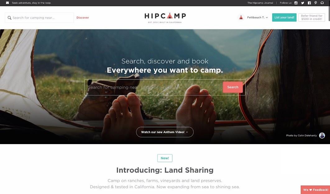露營界的 Airbnb 誕生!線上預訂獨一無二的露營區秘境