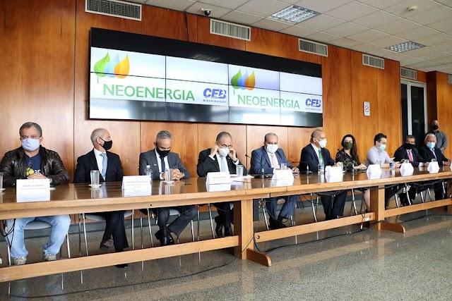 CEB agora é Neoenergia, empresa baiana assume operações no DF e promete triplicar investimentos