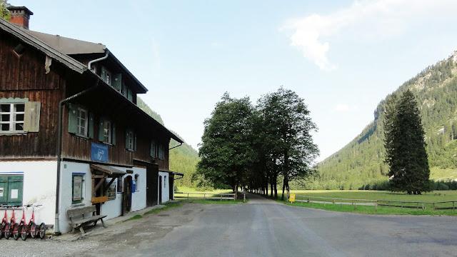 Tour Oberstdorf Älpelesattel Allgäu - Oytalhaus