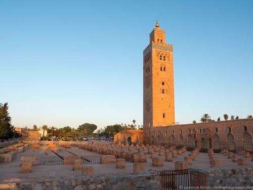 Marrakech mosque Koutoubia