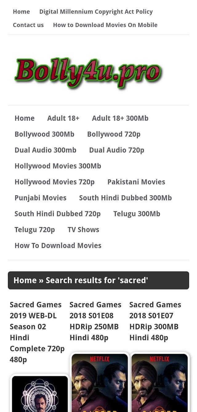 Bolly4u - Download Bolywood, Holywood Hindi Marathi HD Movies Free | Bolly4u Latest url link | मराठी