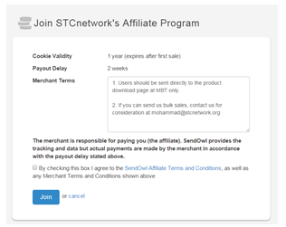Join STCnetwork Affiliate Program