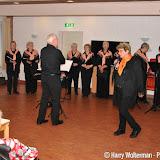 Oranjeconcert de Zwalkers in de Clockstede - Foto's Harry Wolterman