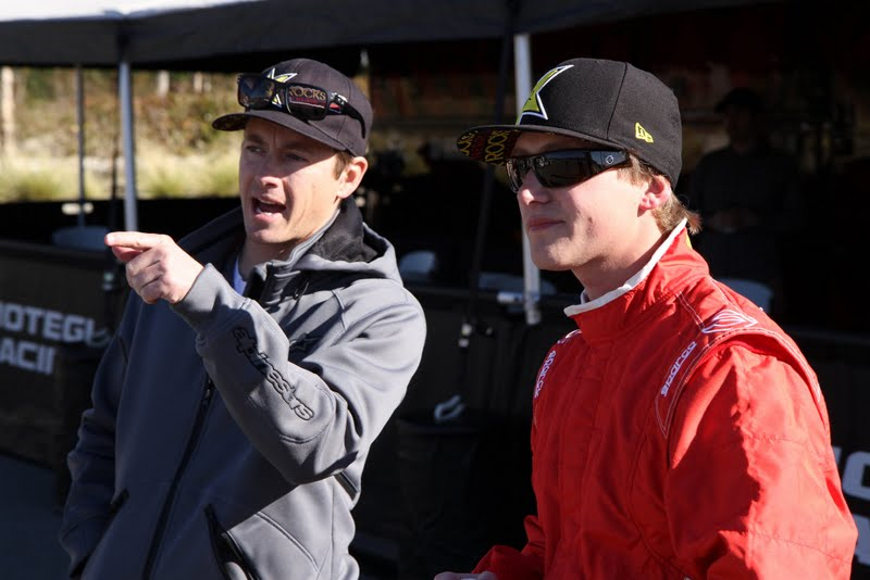 Tanner Foust and Geoff Sykes
