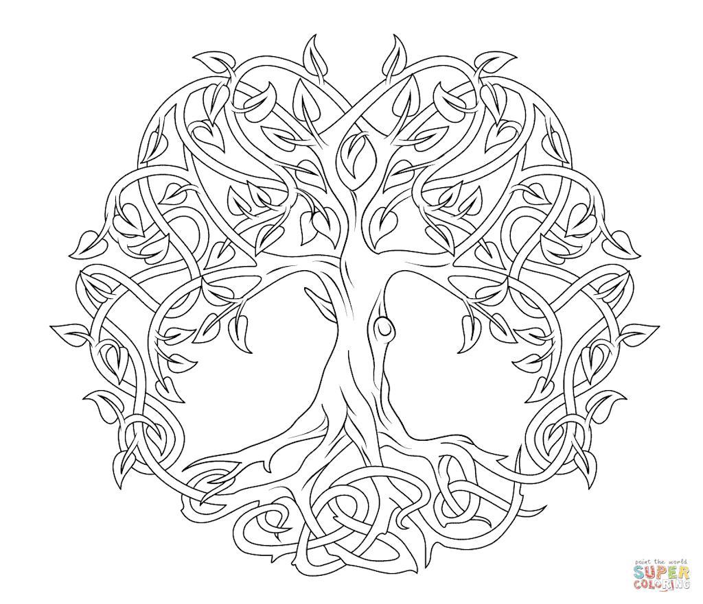 Best Celtic Designs Coloring Pages Images