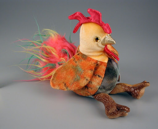 Stuffed animal:The Ty Zodiac Collection: Rooster