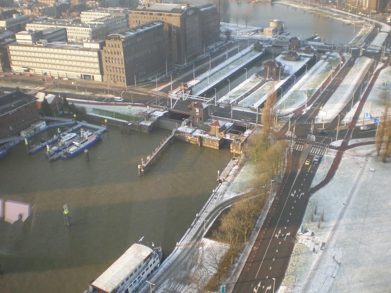 Polizeischiffe / Schleusen în Rotterdam
