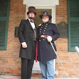 President Lincoln and Col. Moses Wisner