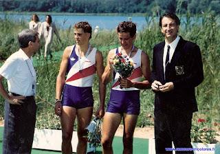 1991-La saison de l'équipe de France d'aviron