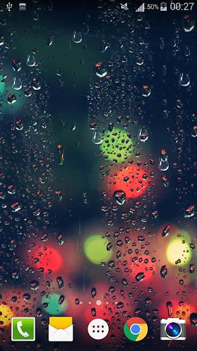 Glass Droplets Live Wallpaper