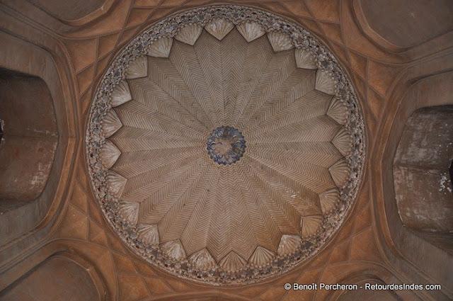 Détail d'Humayun tomb, Delhi