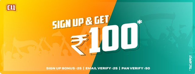 (Proof + Instant Bank Transfer) Chase11 App Loot - Get Rs. 100 on Signup + Rs. 100 Per Refer (Earn Unlimited Cash)