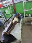 """""""In Haiti, life hangs by a thread"""""""