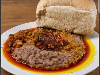Agoyin beans and stew