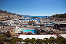 Monaco Harbour on Sunny Saterday