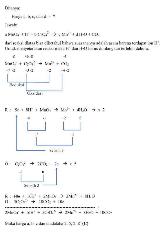 Contoh Soal Dan Pembahasan Uas Kimia Kelas 12 Semester 1