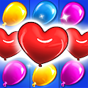Balloon Paradise - Free Match 3 Puzzle Game icon