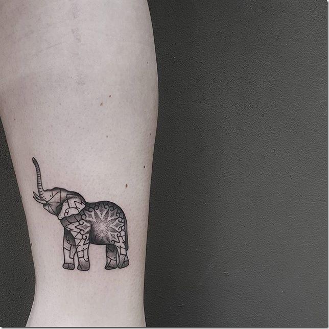 Tatuajes De Elefante Tatuajes247