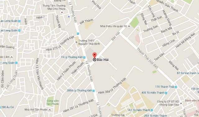 Bản đồ công ty TNHH TMDV Vận Tải Nguyên Lợi