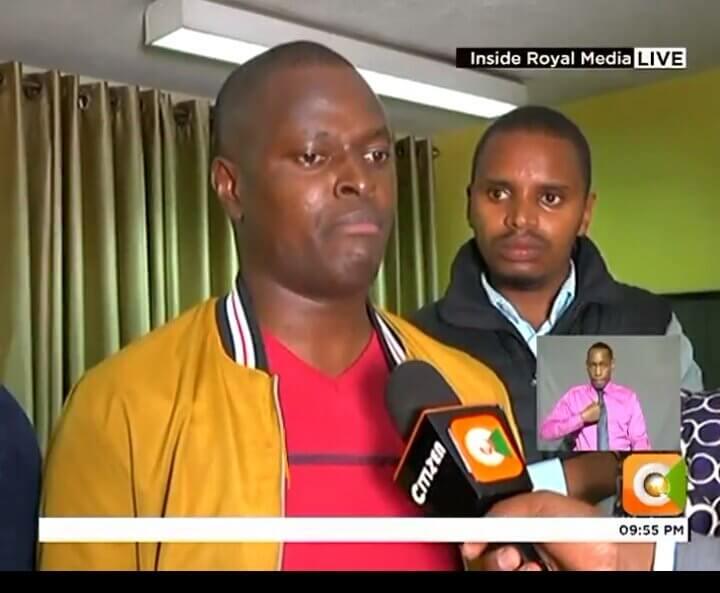 Kiharu MP Ndindi Nyoro