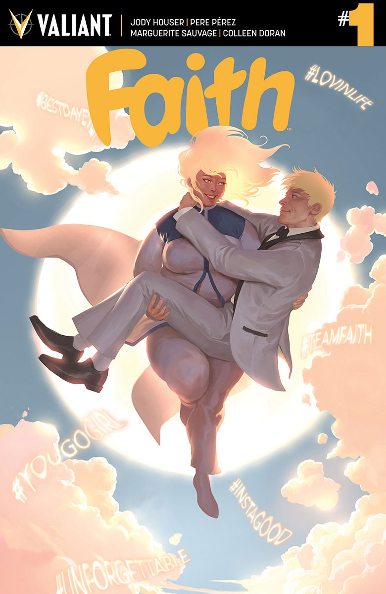 FAITH ONGOING 001 COVER B DJURDJEVIC