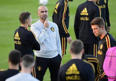 Roberto Martinez donne des nouvelles de Lukaku, Chadli et Praet