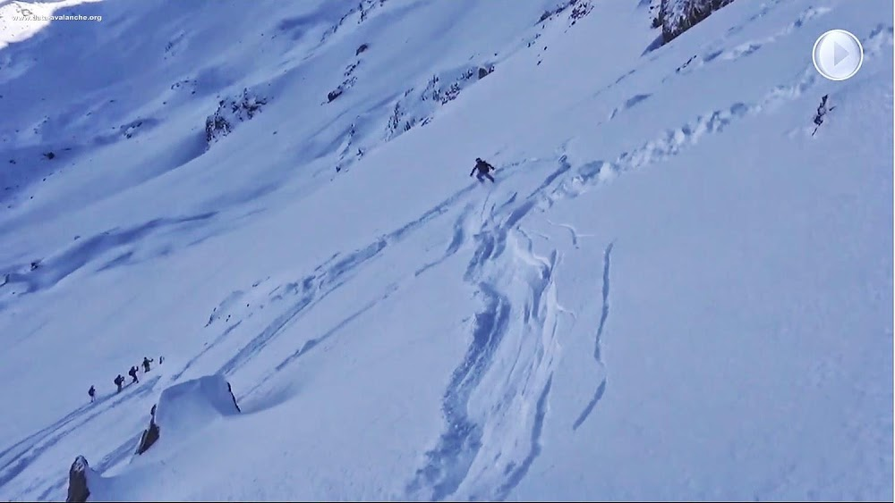 Avalanche Haute Tarentaise, secteur Sainte-Foy-Tarentaise, Pointe Foglietta - Photo 1