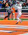 Shane Wynn #1 with a catch in the end zone (NCAA Football: Illinois 17 vs. Indiana 31, October 27, 2012, Memorial Stadium, Champaign, IL)