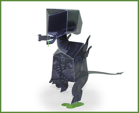 Xenomorph Paper Toy Alien
