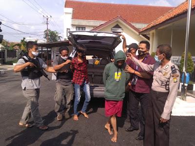 Bobol Mini Market Polsek Kedung Waringin Tangkap Para Pelaku Dalam Waktu Dua Jam