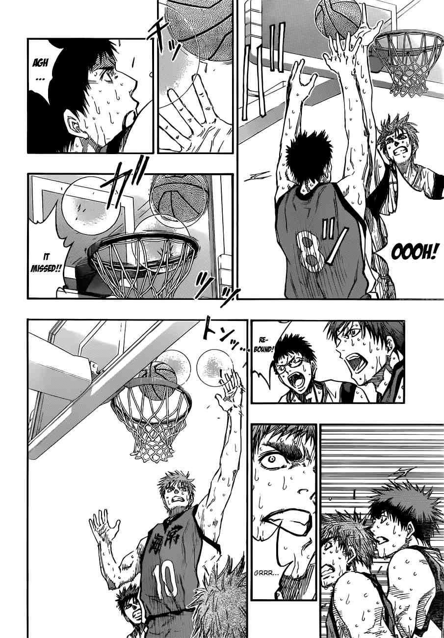 Kuroko no Basket Manga Chapter 193 - Image 18