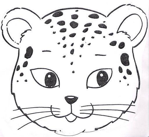 Bebé Jaguar Para Colorear Imagui