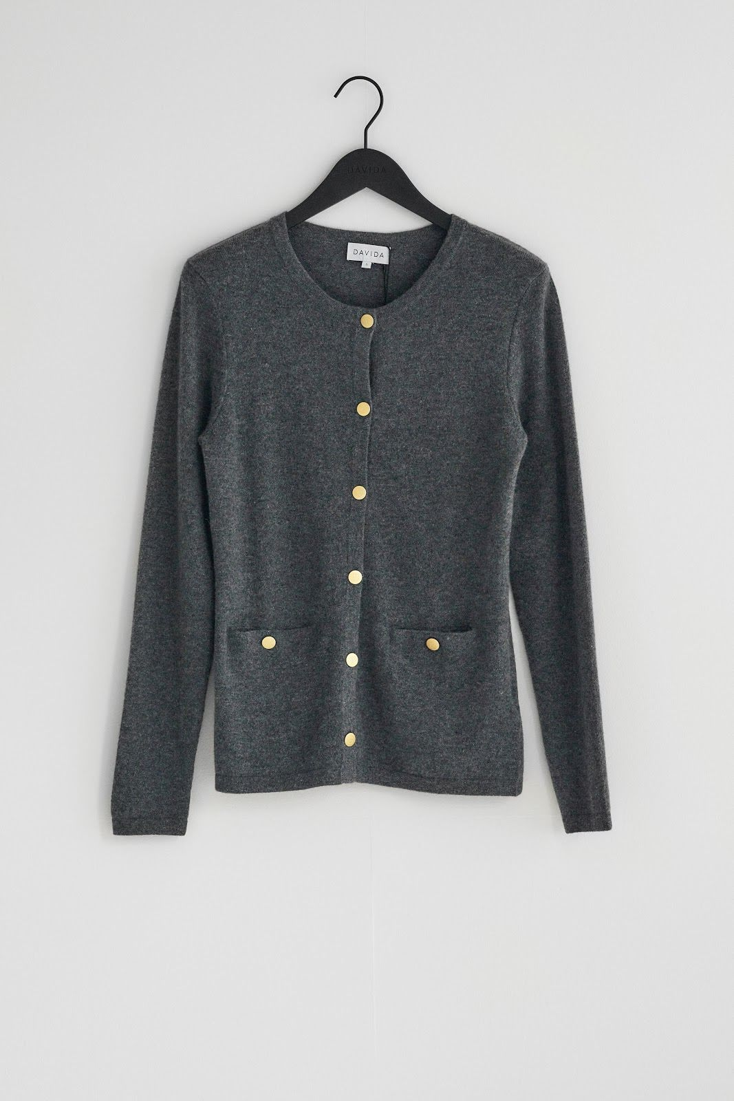 Cardigan Gold Buttons