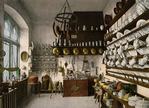 Traditional German kitchen