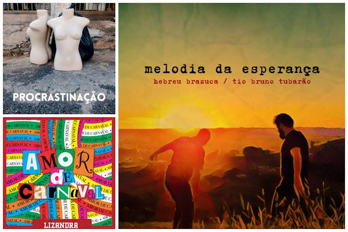 Lançamentos musicais patenses exploram sonoridades de axé, folk e pisadinha