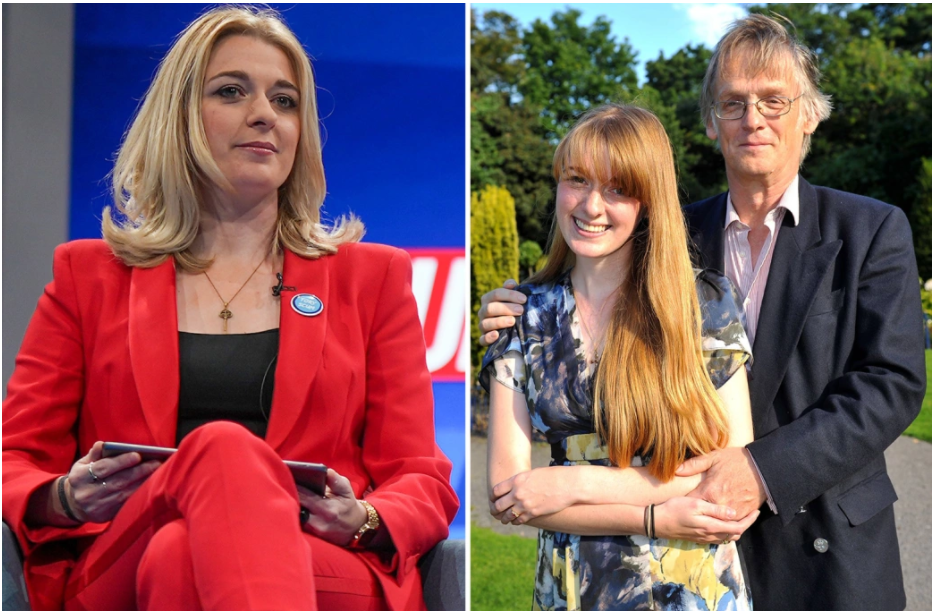 British lawmaker comes out as bisexual after split from husband who is 35 years older